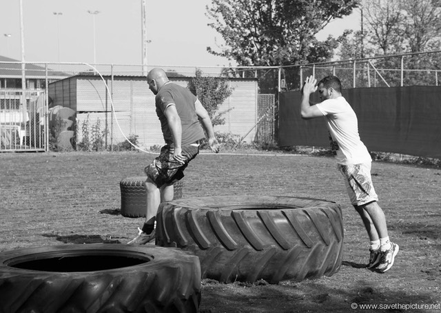 2themaxmmafitness outdoor strength training, Fedor and Jaoud