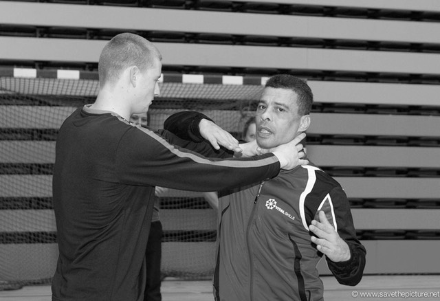 2themax self-defense, training at the sport academy Amsterdam