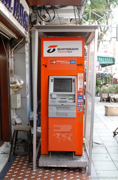 Bangkok ATM Machine 1