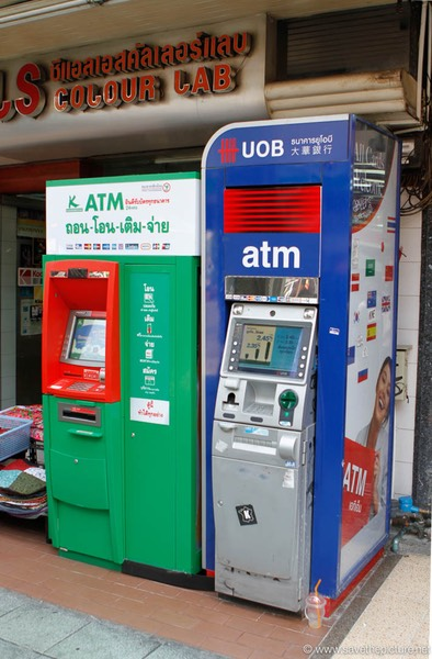 Bangkok ATM Machine 2