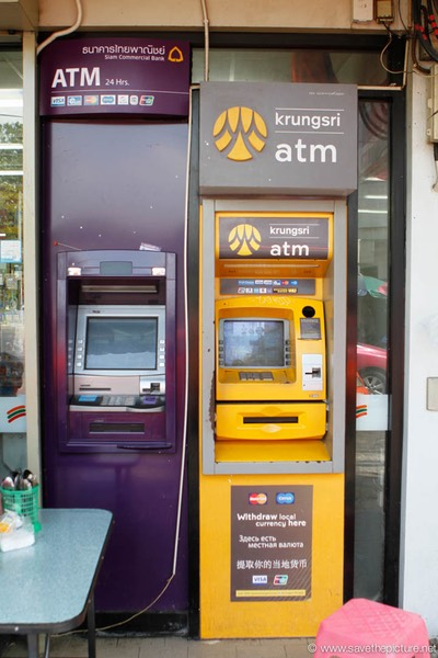 Bangkok ATM Machine 4