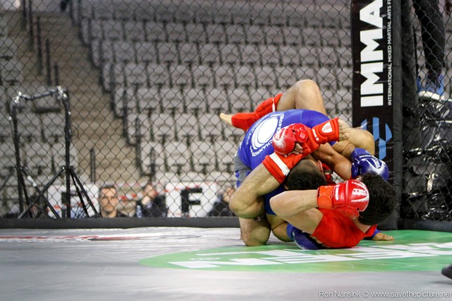 IMMAF MMA action photos 3