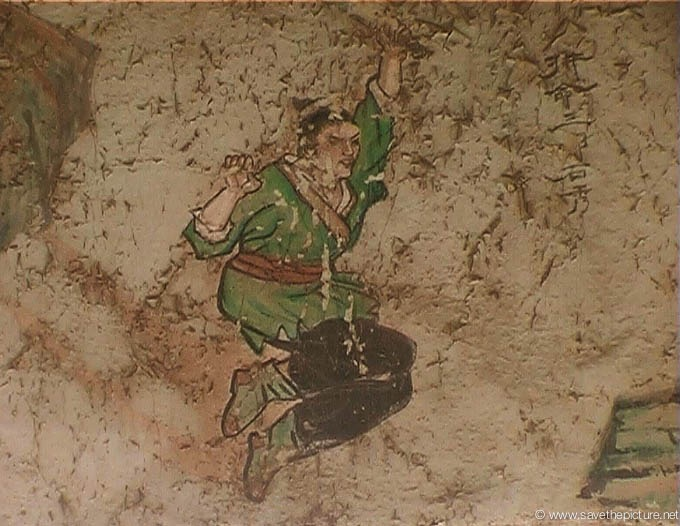 China Shaolin Dharma hall paintings 20