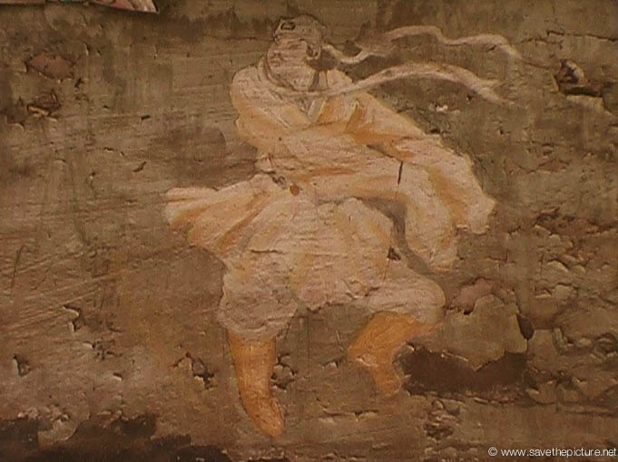China Shaolin Dharma hall paintings 14