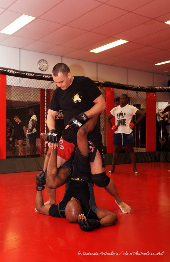 MMA ground control Maxim Leijdekker 2