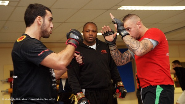 MMA stand up training, punching 2