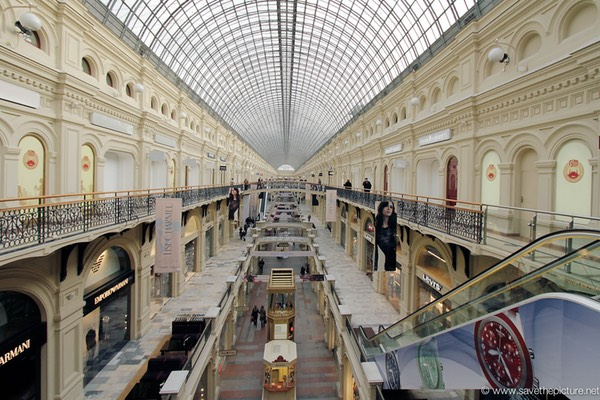 Moscow Gum shopping mall