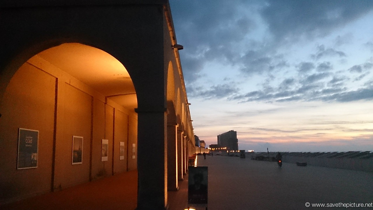 Ostend art galery at the boulevard