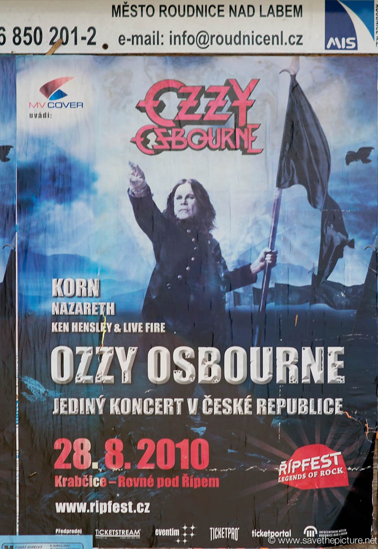 Ozzy Osbourne in Prague
