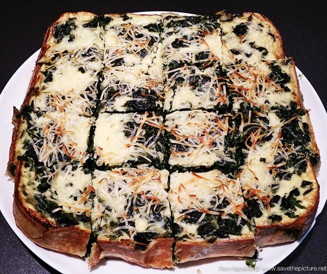 TheFeel foodies by Nadja Kotrchova spinach quiche