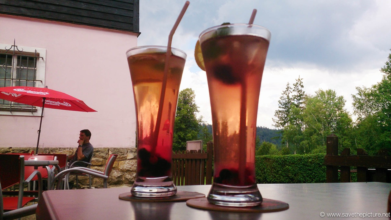 Zamecek, summer special, grandmothers herbal ice tea