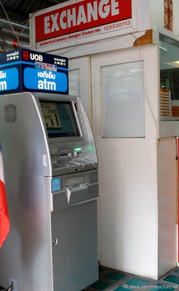 savethepicture net Tailand, Bangkok ATM machines travel, food