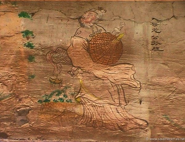 China Shaolin Dharma hall paintings 2