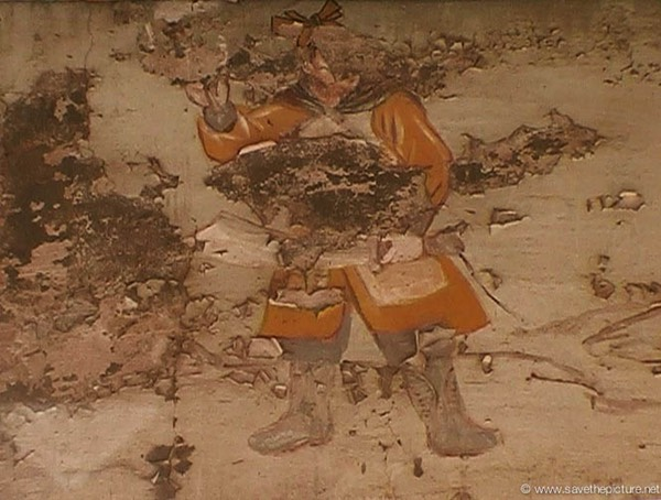 China Shaolin Dharma hall paintings 17