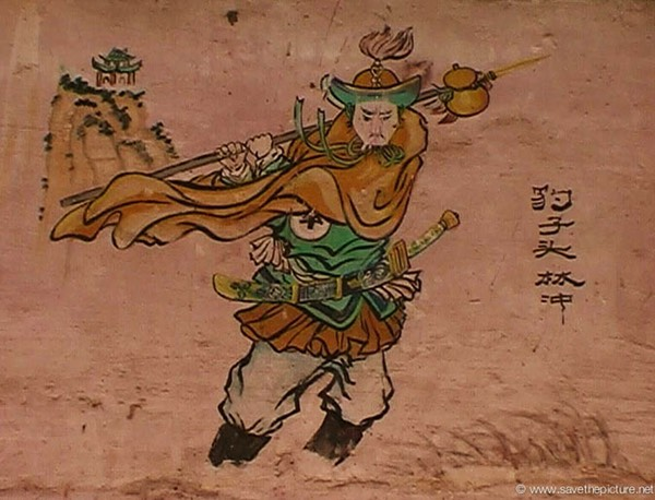 China Shaolin Dharma hall paintings 1