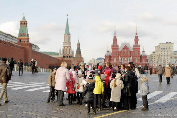 Moscow redsquare school tour